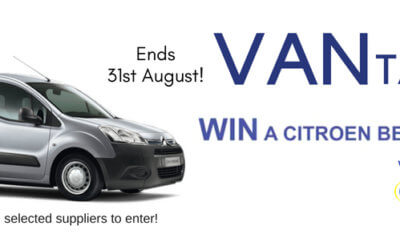 Vantastic is back! Spend £250 to enter