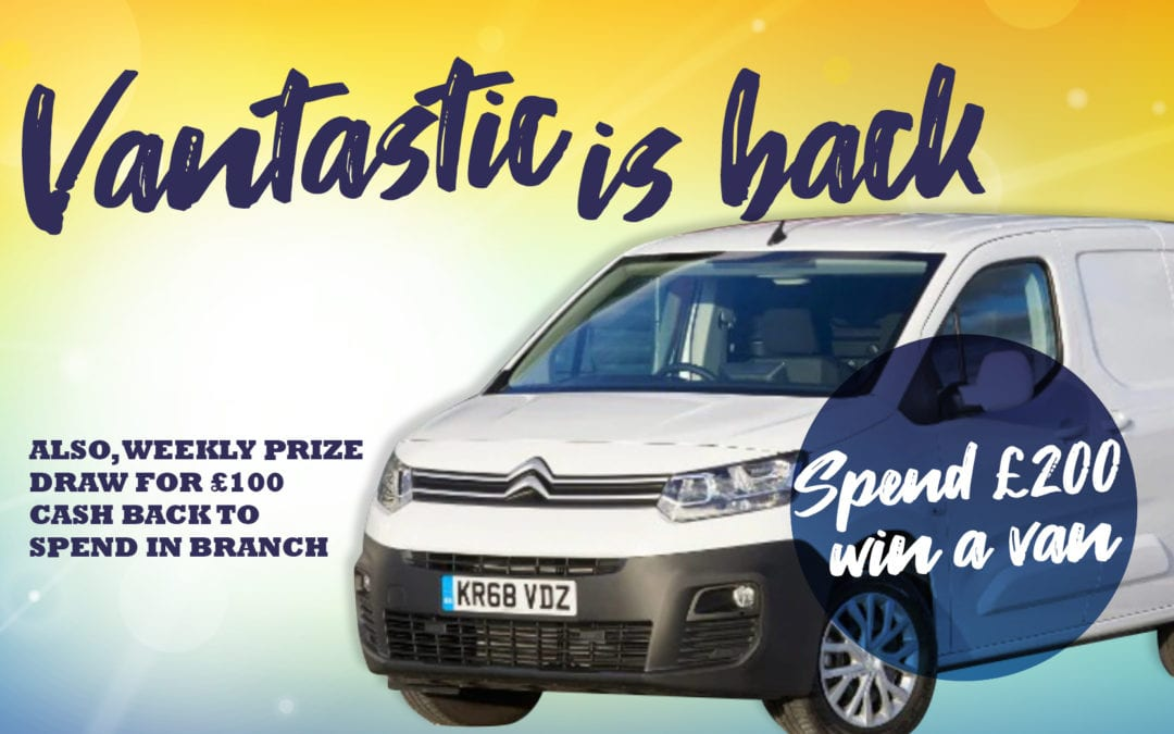 Win a Citroen Berlingo Van!